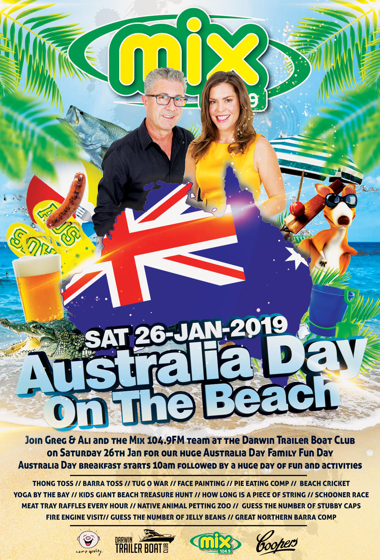 Australia Day on the Beach